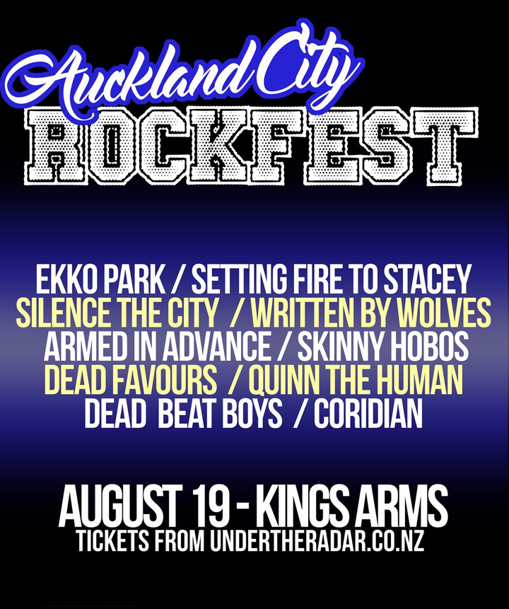 Silence The City @ Kings Arms - Auckland, New Zealand