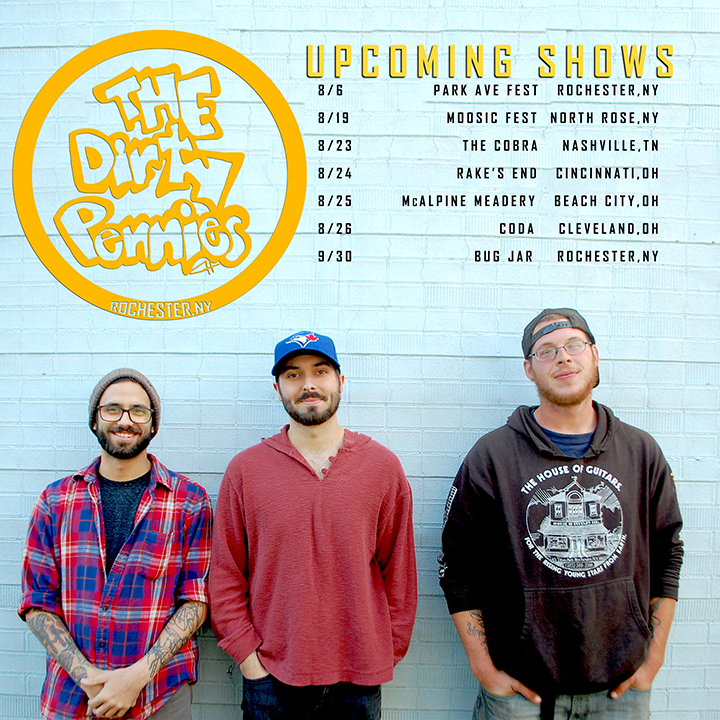 The Dirty Pennies Tour Dates