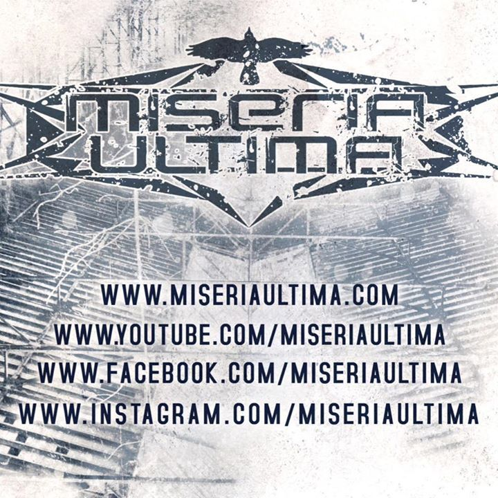 Miseria Ultima Tour Dates