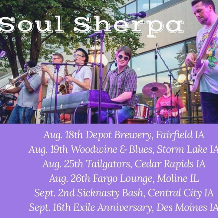 Soul Sherpa @ Wood, Wine, and Blues Festival - Storm Lake, IA