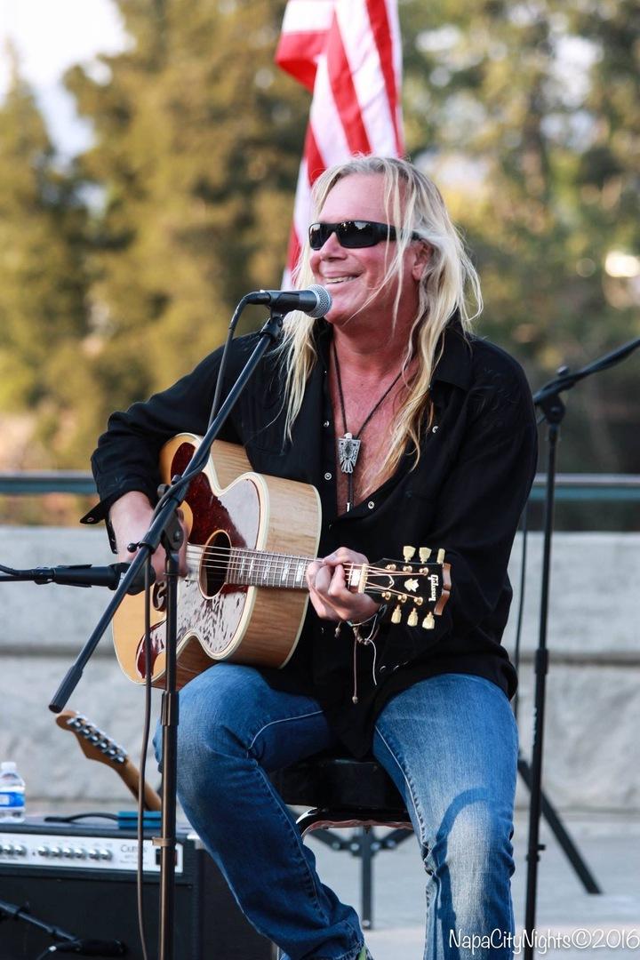 James Patrick Regan - singer/guitarist @ Coast Cafe Bolinas  - Bolinas, CA