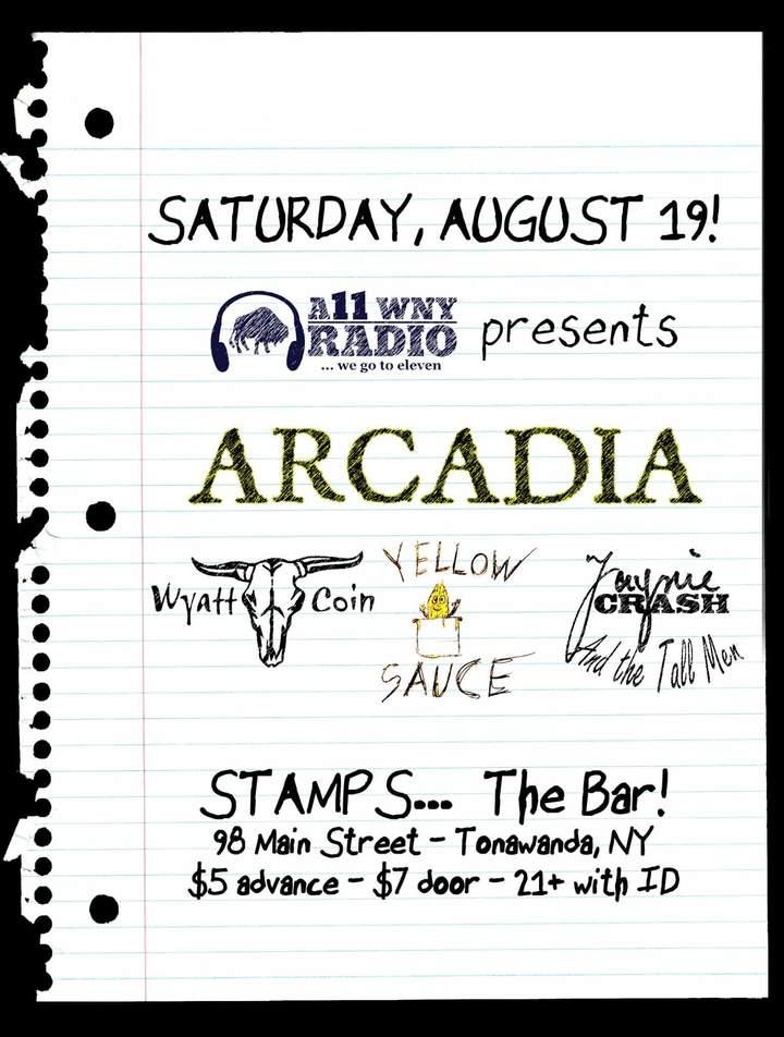 Arcadia - band @ Stamps - Tonawanda, NY