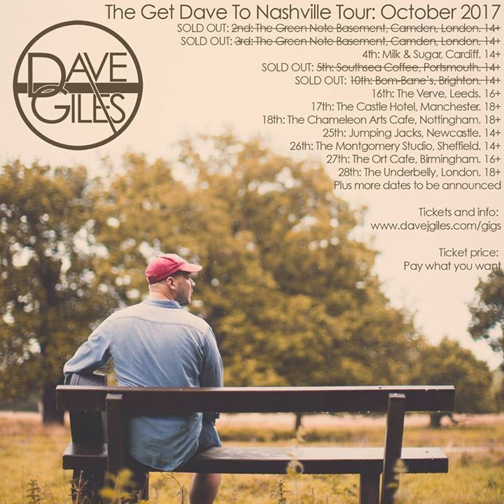 Dave Giles @ Chameleon Arts Cafe - Nottingham, United Kingdom