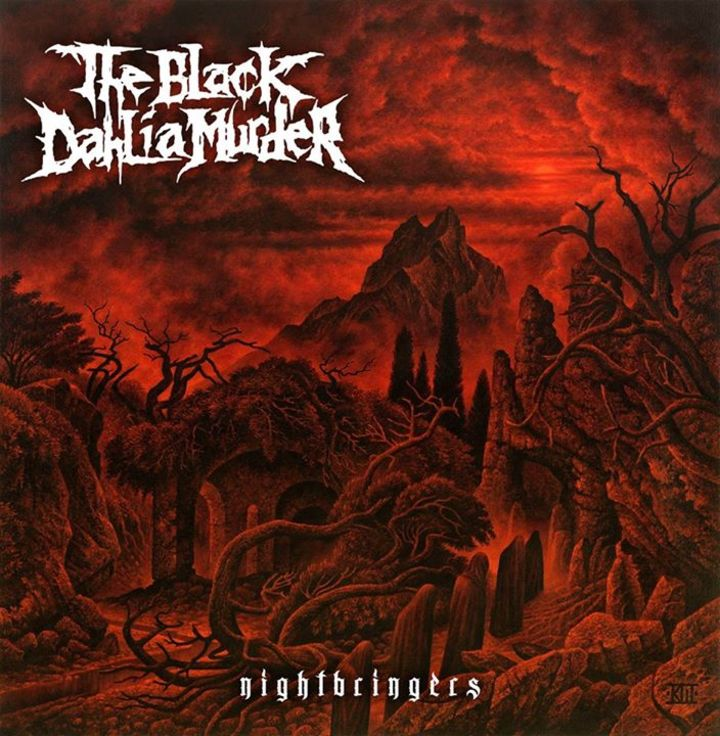 The Black Dahlia Murder @ Glen Helen Amphitheater formerly San Manuel Amphitheater - San Bernardino, CA