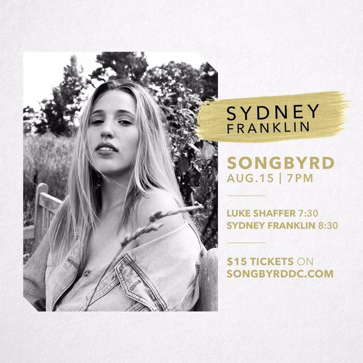 Sydney Nicole Franklin Tour Dates