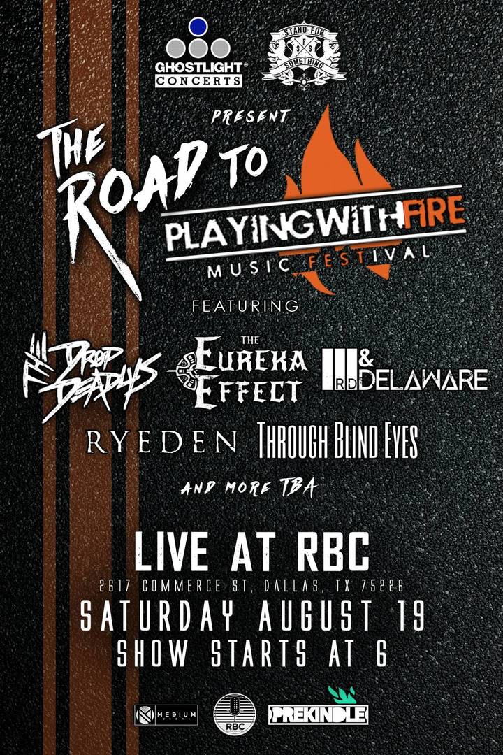 Third & Delaware @ Battle for Playing with Fire Music Festival at RBC! - Dallas, TX