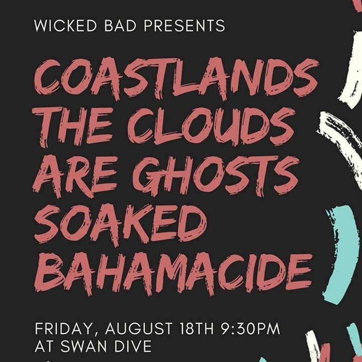 THE CLOUDS ARE GHOSTS Tour Dates