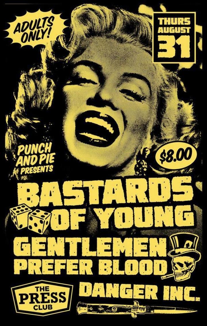 Gentlemen Prefer Blood @ The Press Club - Sacramento, CA