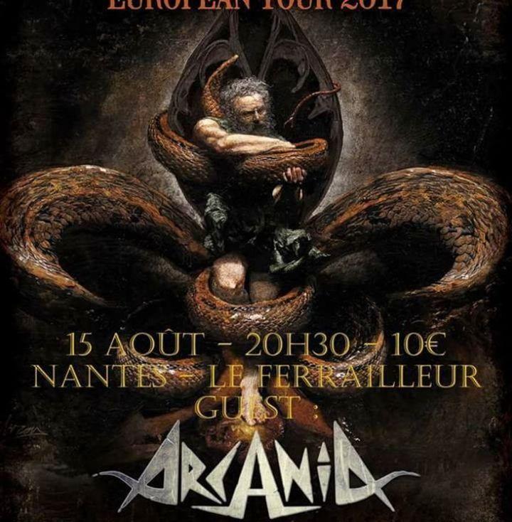 ARCANIA Tour Dates