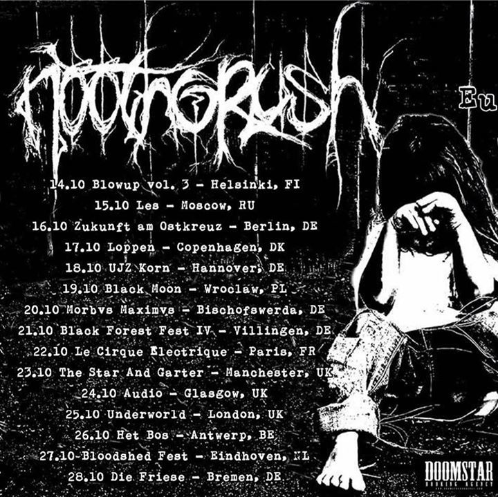 Noothgrush Tour Dates