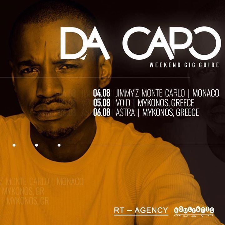 Da Capo Tour Dates