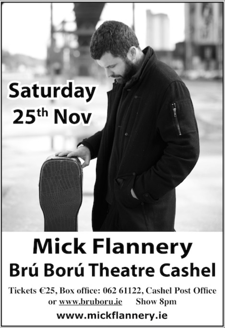 Mick Flannery @ Brú Ború Theatre - Cashel, Ireland
