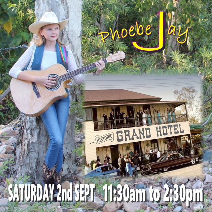 Phoebe Jay @ pin 	 Hide Map Grand Hotel Howard - Howard, Australia