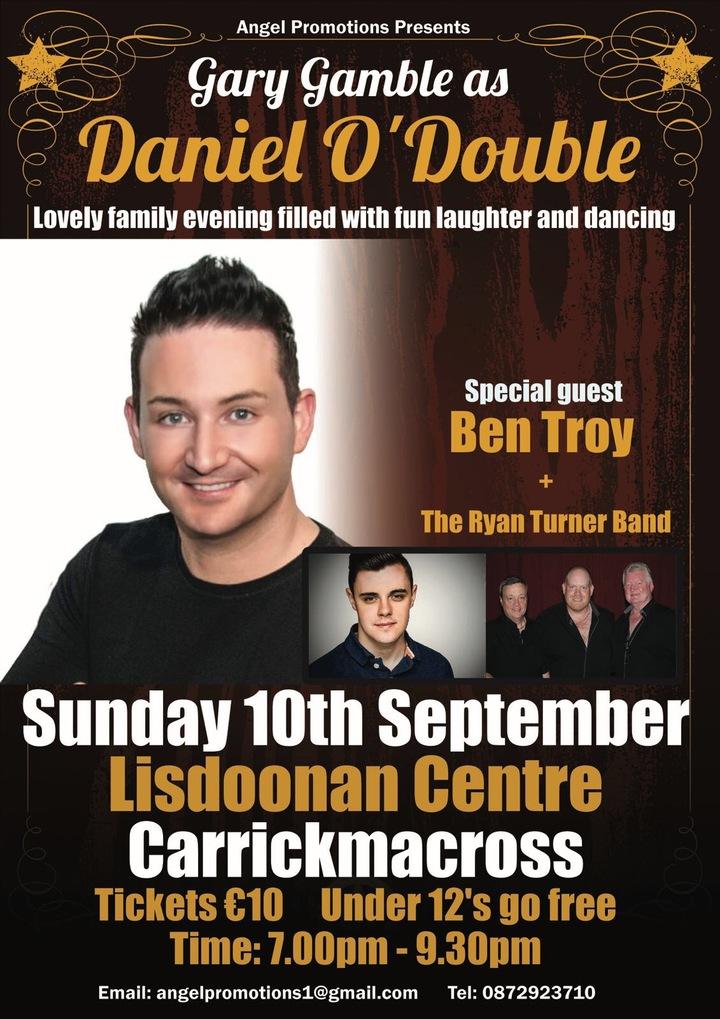 Gary Gamble @ Lisdoonan Centre - Carrickmacross, Ireland