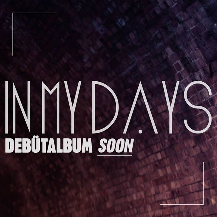 In My Days Tour Dates