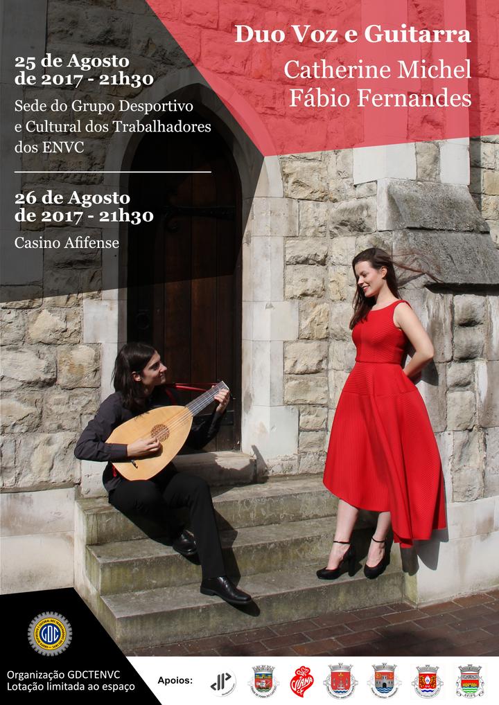 Daniel Davis @ Fábio Fernandes plays 'Four Ways' for Guitar Solo - Viana Do Castelo, Portugal