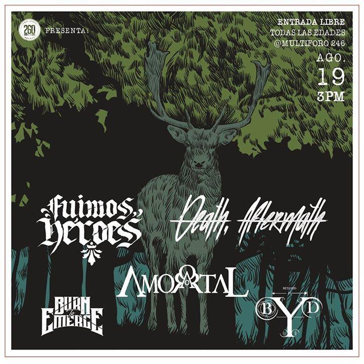 Amortal Tour Dates