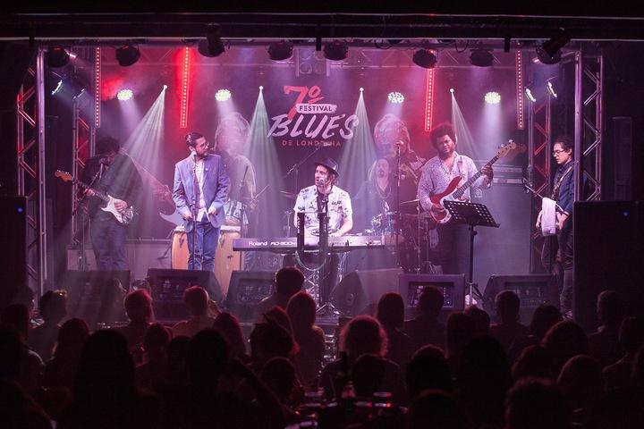 Luciano Leães & The Big Chiefs @ Sgt Peppers - Porto Alegre, Brazil