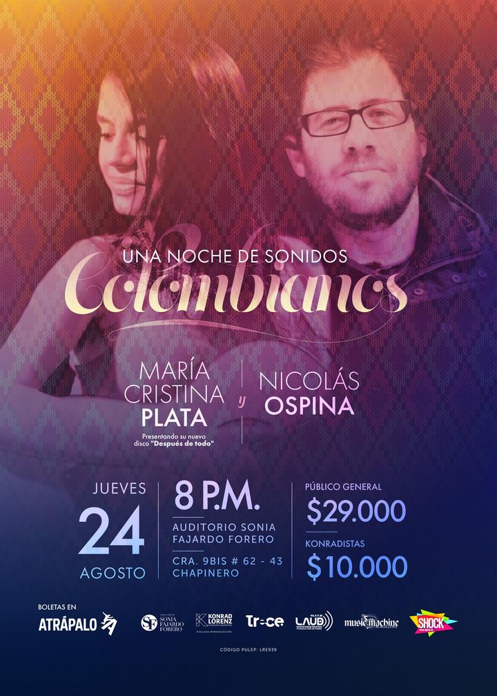 Nicolas Ospina @ Auditorio Sonia Fajardo - Fundación Universitaria Konrad Lorenz - Bogotá, Colombia