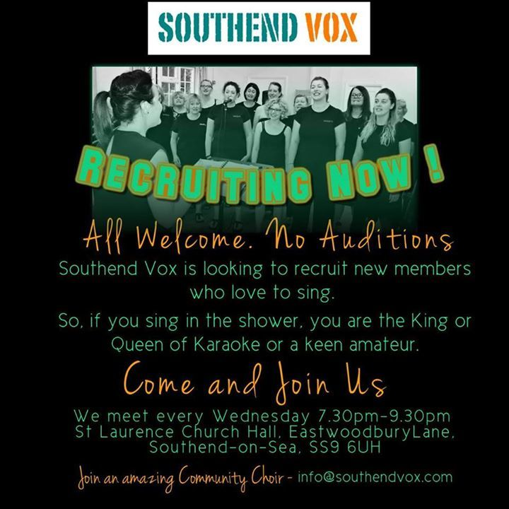 Southend Vox Tour Dates