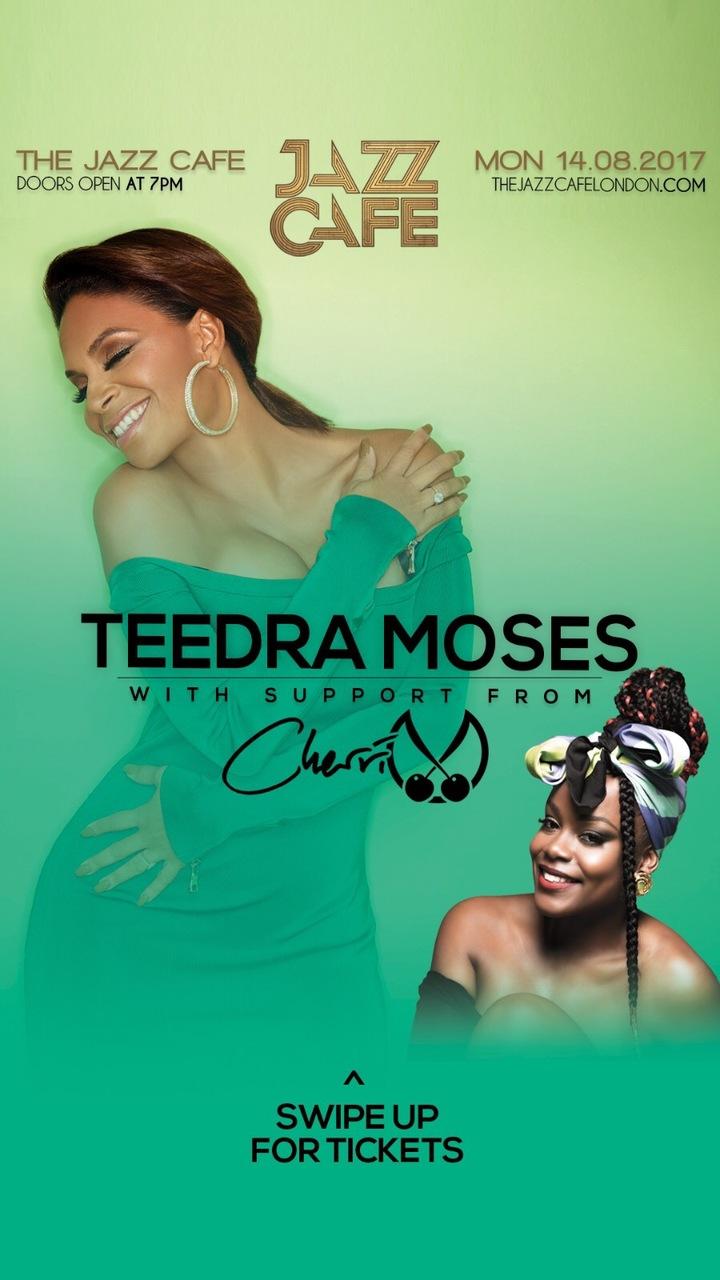 Cherri V @ Teedra Moses @ The Jazz Cafe  - London, United Kingdom