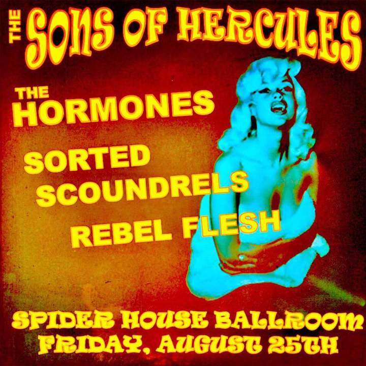 The Sons of Hercules @ Spider House Cafe and Ballroom - Austin, TX