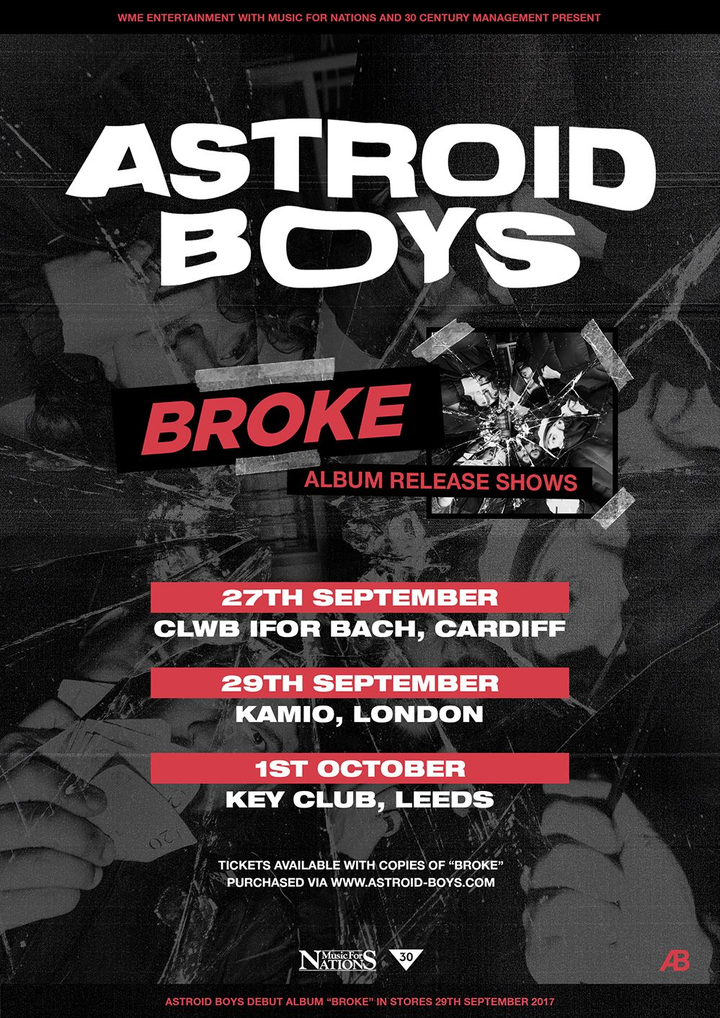 Astroid Boys @ Key Club - Leeds, United Kingdom