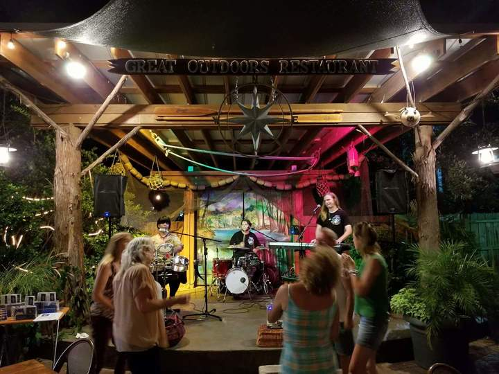 GypsyElise and the Royal Blues @ Great Outdoors Restaurant  - High Springs, FL
