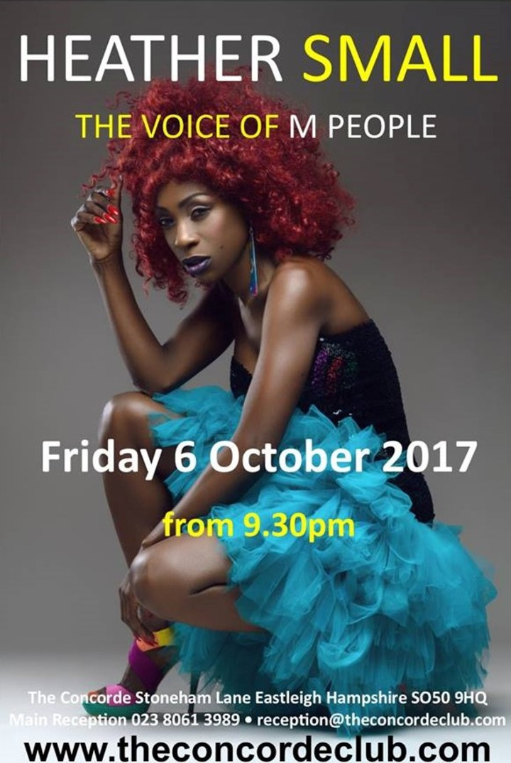 Heather Small - The Voice Of M People @ The Concorde - Southampton, United Kingdom