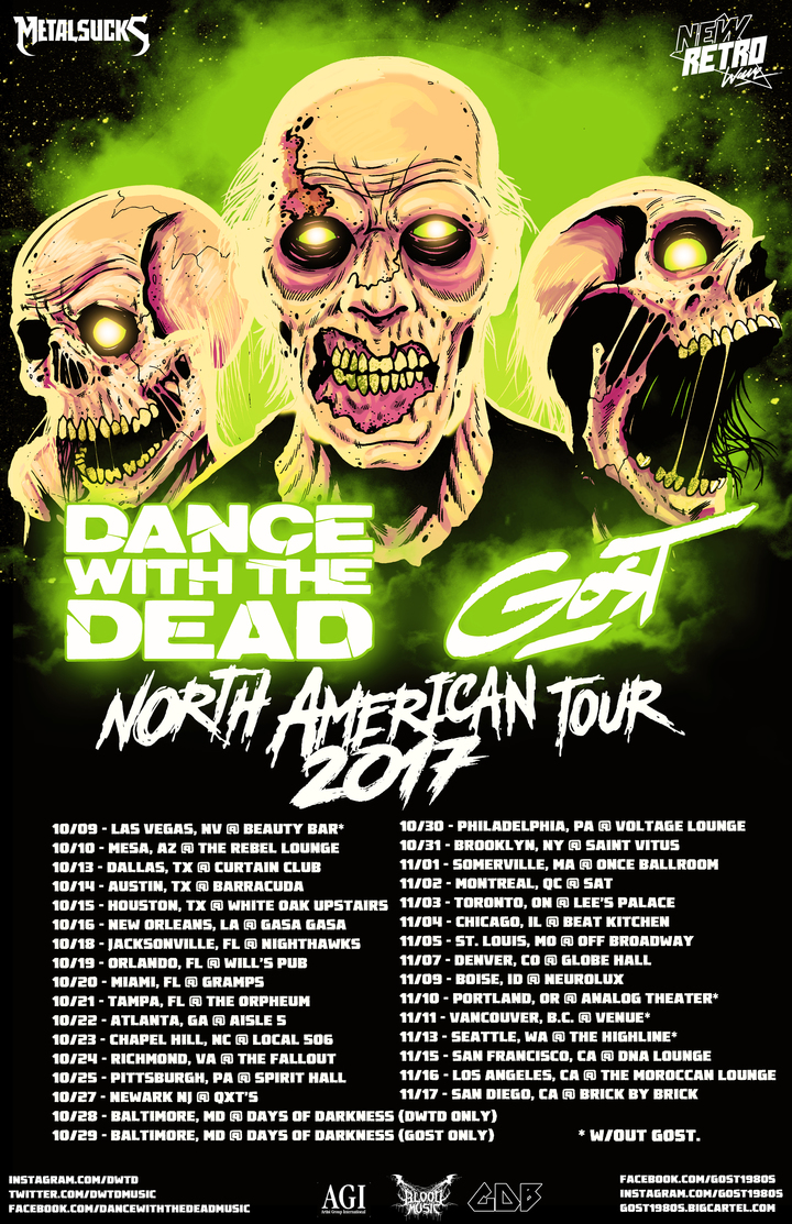 Dance With the Dead @ Globe Hall - Denver, CO