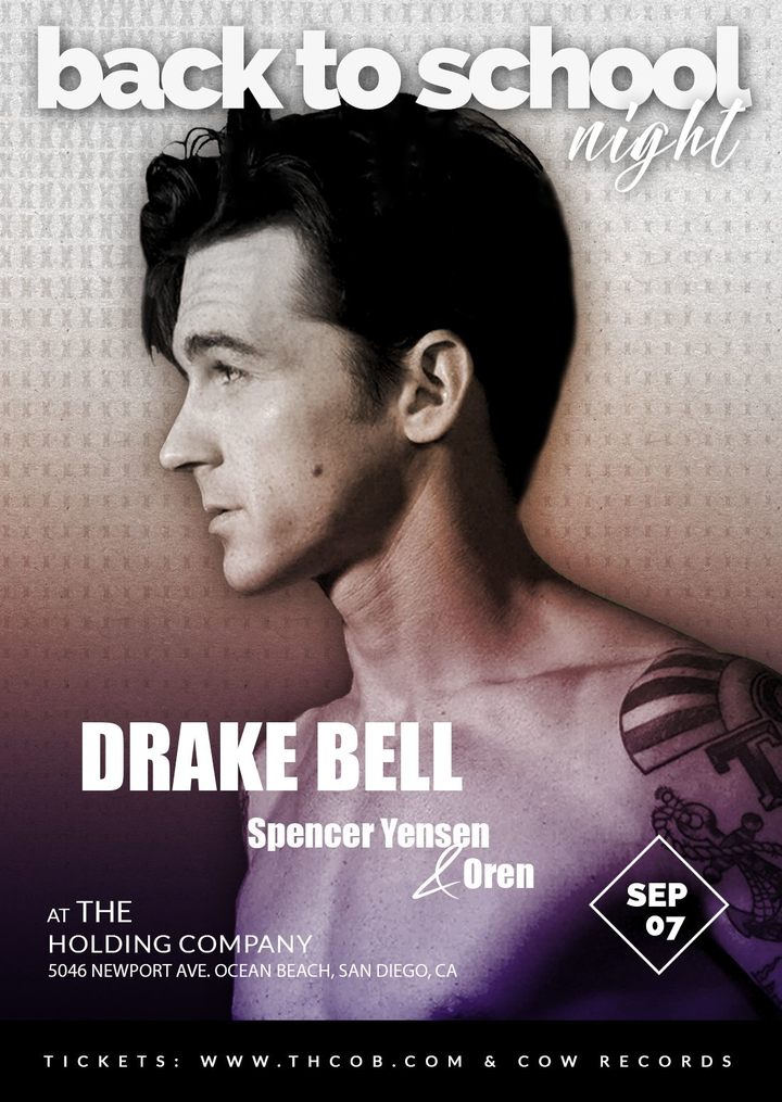 Drake Bell @ The Holding Company - San Diego, CA