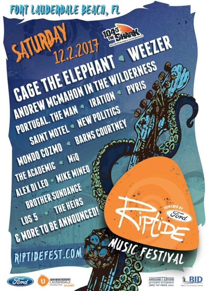 Mike Mineo @ Riptide Music Festival - Fort Lauderdale, FL