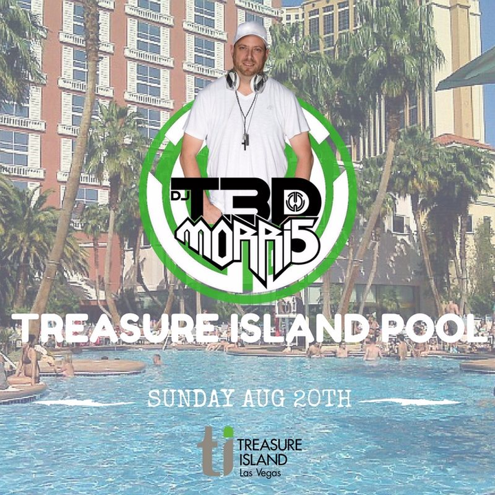 DJ T3D MORRI5 @ Treasure Island Pool - Las Vegas, NV