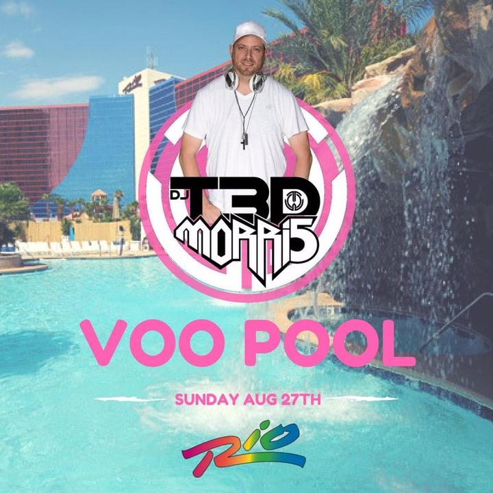 DJ T3D MORRI5 @ Voo Pool @ The Rio - Las Vegas, NV
