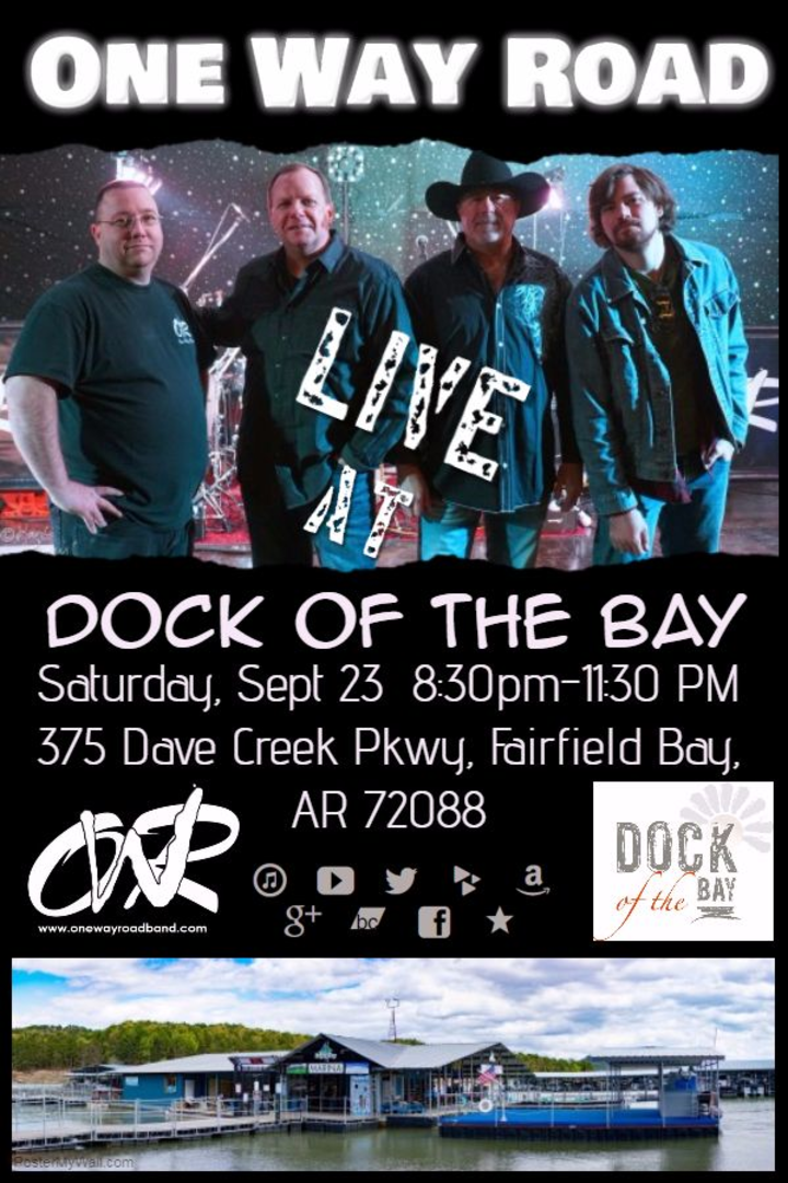 One Way Road Band @ Dock of the Bay - Fairfield Bay, AR