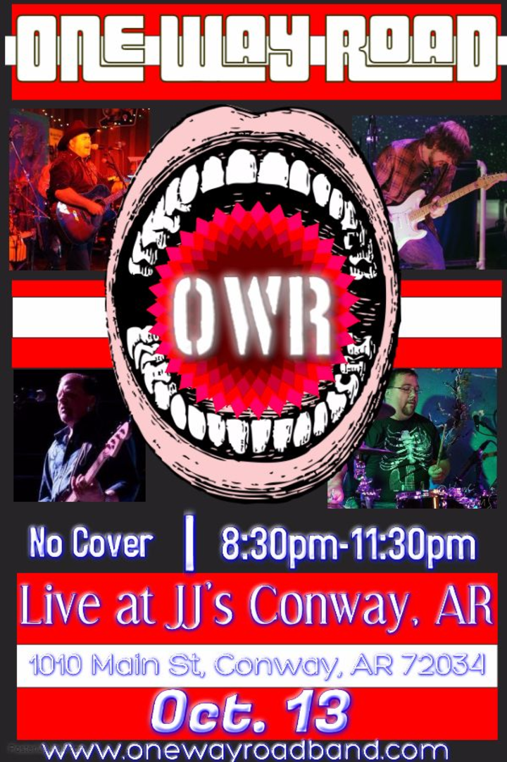 One Way Road Band @ JJ's Grill of Conway - Conway, AR