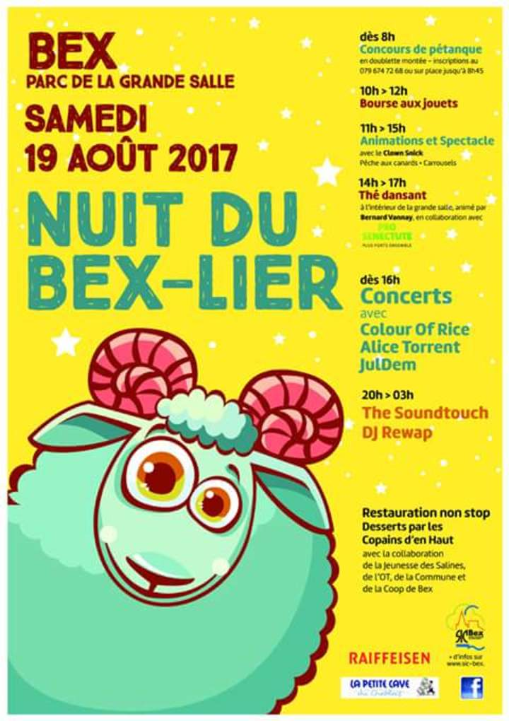 Colour Of Rice @ Nuit du Bex-lier - Bex, Switzerland