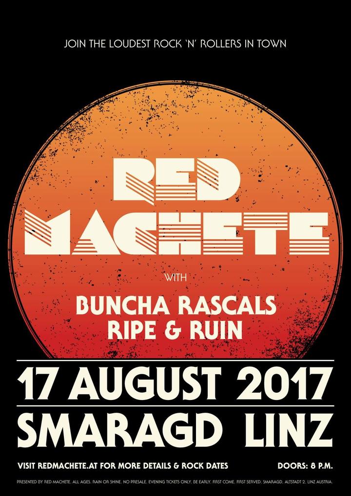 Red Machete @ Smaragd - Linz, Austria