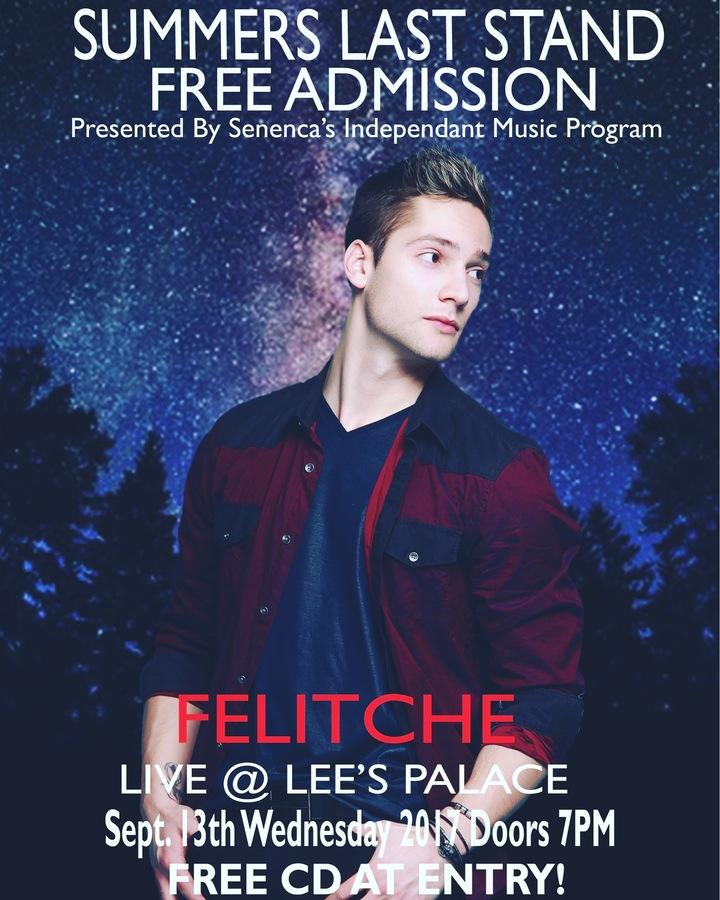 Felitche Hutchinson @ Lees Palace - Toronto, Canada