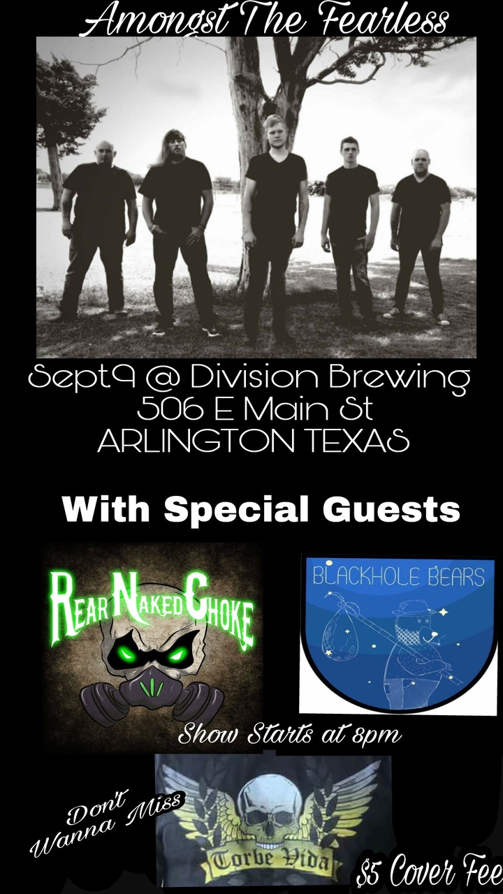 Black Hole Bears @ Division Brewing - Arlington, TX