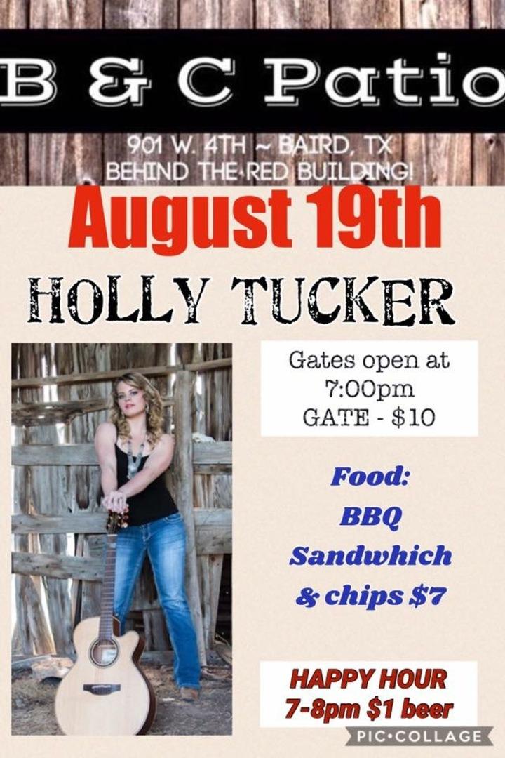 Holly Tucker @ B&C Patio - Baird, TX
