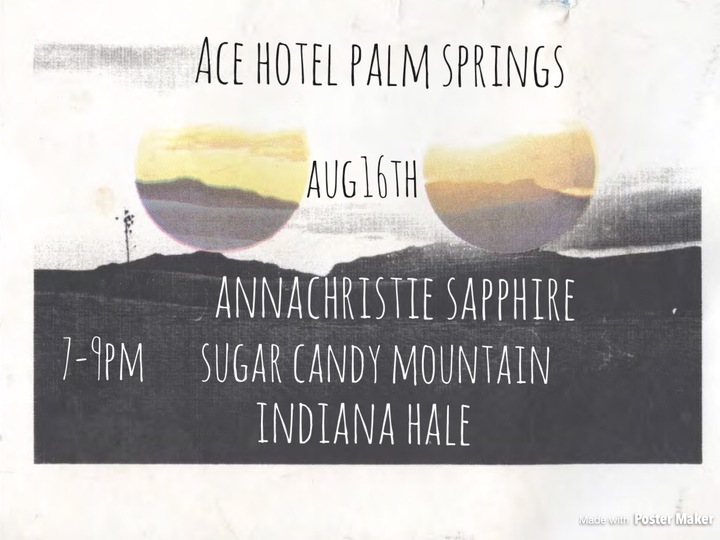 Annachristie music @ The Ace Hotel  - Palm Springs, CA