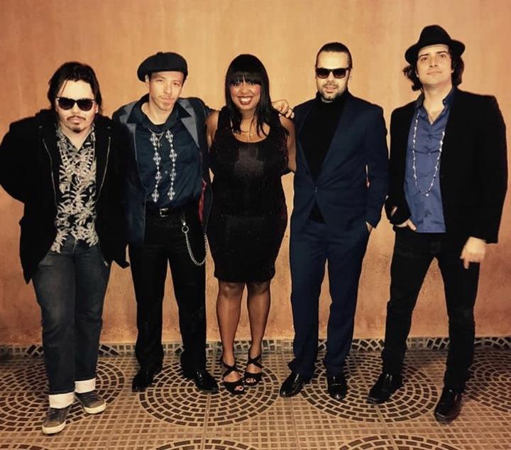 Luciano Leães & The Big Chiefs @ (ANNIKA CHAMBERS)  Big Easy - Houston, TX