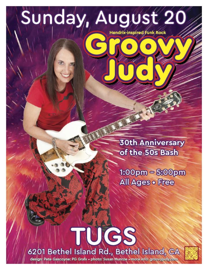 Groovy Judy @ TUGS  - Bethel Island, CA