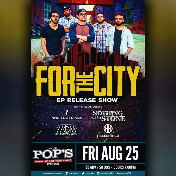 For the City @ Pop's Nightclub - Sauget, IL