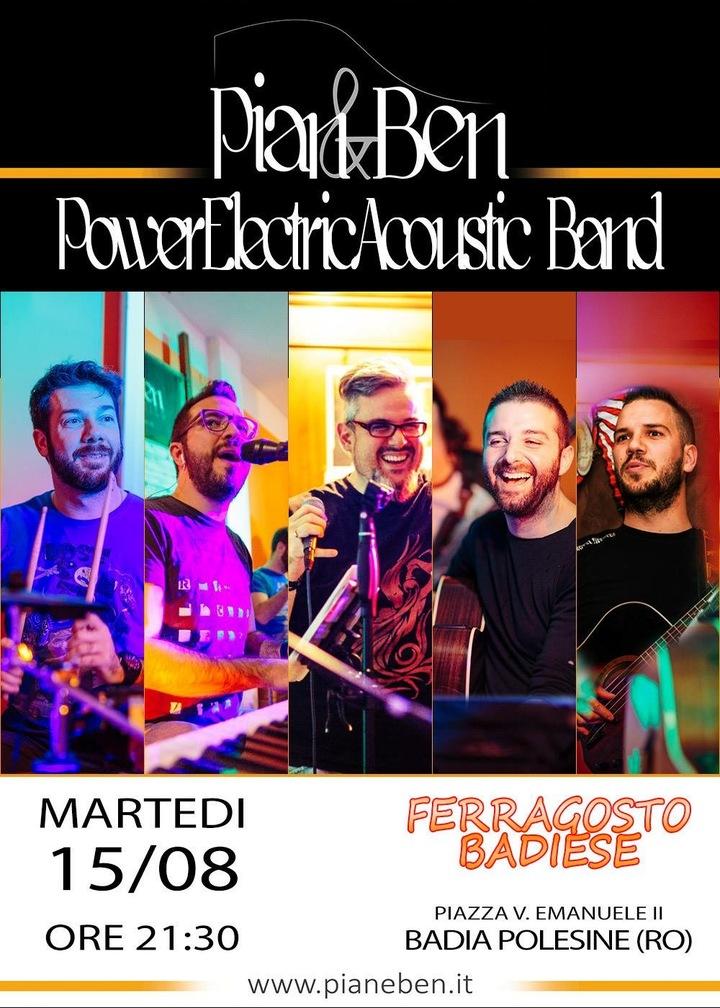 Pian & Ben @ Ferragosto Badiese  - Badia Polesine, Italy