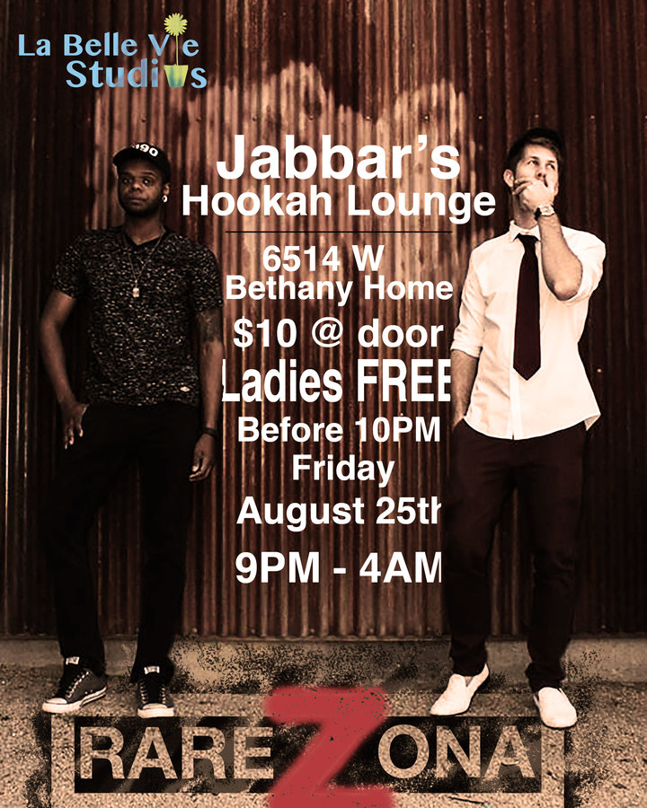 Monsieur Hiver @ Jabbar' Hookah Lounge, 6514 W Bethany Home Rd - Glendale, AZ