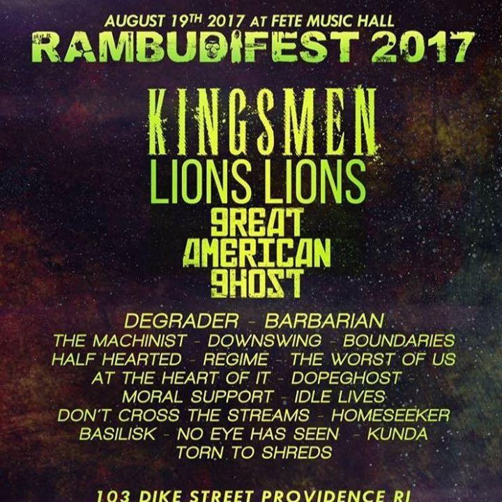 Lions Lions @ Palladium - Worcester, MA