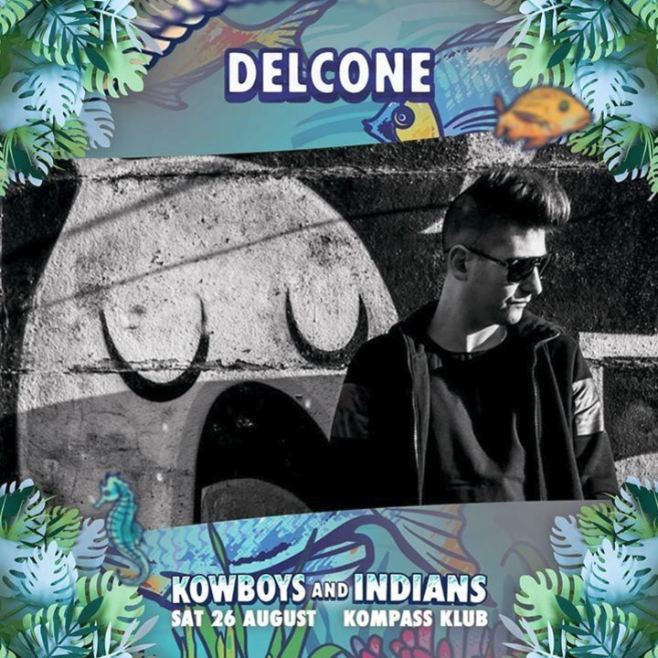 Delcone @ Kowboys and Indians @ Kompass Klub - Ghent, Belgium