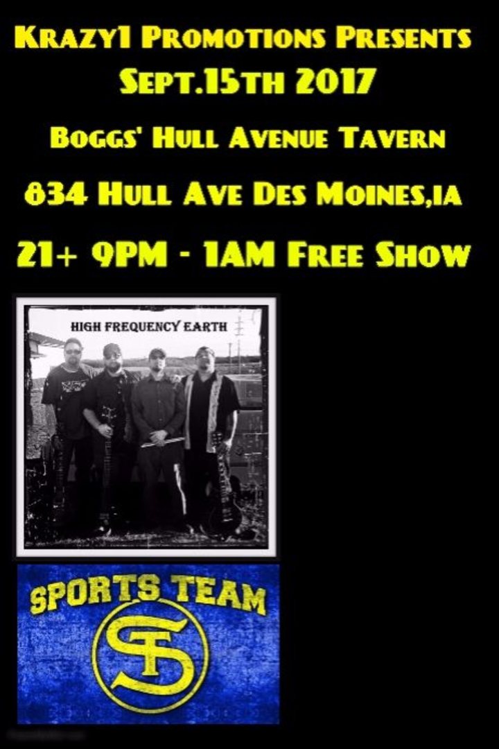 Krazy1 Promotions @ Boggs' Hull Avenue Tavern - Des Moines, IA